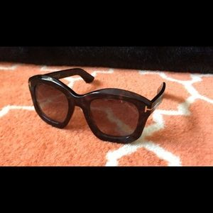 Brown Tortoise Tom Ford Sunglasses